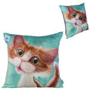 Pets with Personality Tabby Cat Cushion