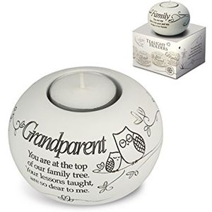 Said with Sentiment Grandparent Tealight Candle Holder