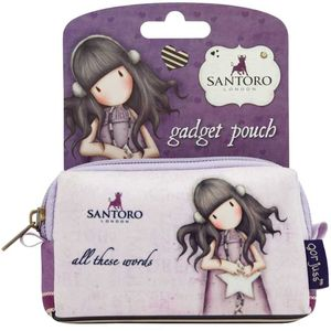 Santoro Gorjuss Gadget Pouch - All These Words