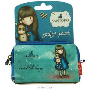 Santoro Gorjuss Gadget Pouch - Hush Little Bunny