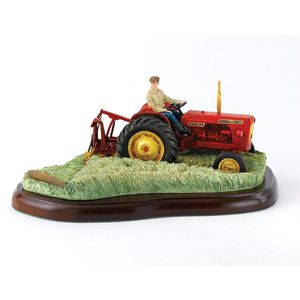Border Fine Arts Studio - David Brown Tractor & Mower