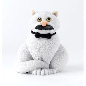 Comic & Curious Cats Figurine - Movember
