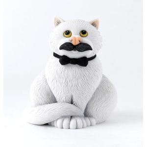 Comic & Curious Cats - Movember Figurine