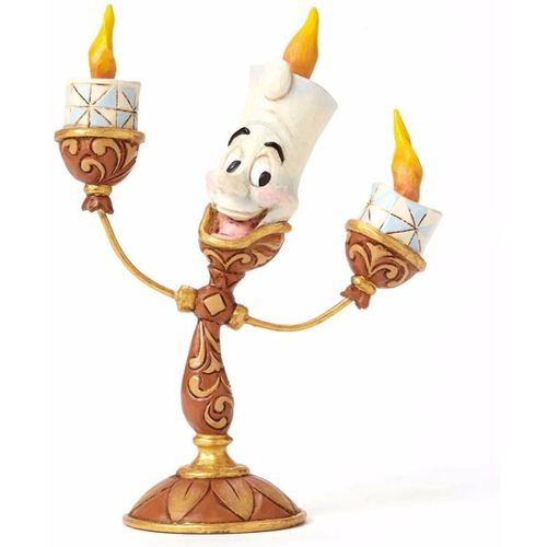 Disney Traditions Lumiere Beauty & The Beast Figurine by Jim Shore
