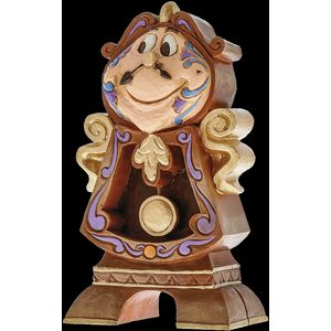 Disney Traditions Keep Watch (Cogsworth) Figurine