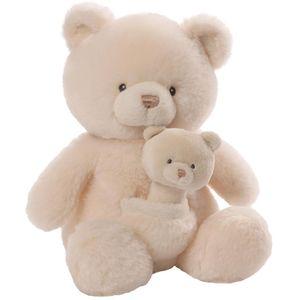Gund Baby Soft Toy & Rattle Set - Teddy Bear