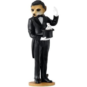 Magnificent Meerkats - Magician Figurine