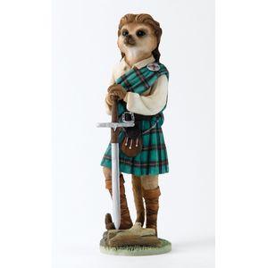 Magnificent Meerkats - Scotsman Figurine