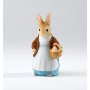 Beatrix Potter Miniature Figurine - Mrs Rabbit