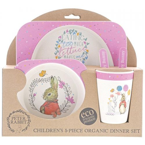Baby Toddler Dinner set Plat Bowl cup and cutlery - made from Bamboo