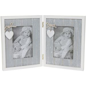 Provence Grey Double Frame 4x6