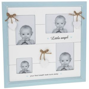 Provence Little Angel Collage Photo Frame - Baby Boy