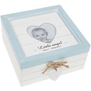 Provence Baby Keepsake Box (Baby Boy Blue)