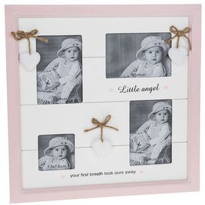 Provence Little Angel Collage Photo Frame - Baby Girl