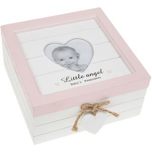 Provence Baby Keepsake Box (Baby Girl Pink)