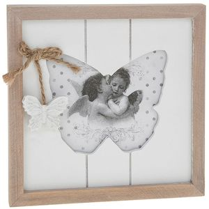 """Provence Butterfly Photo Frame 4x4"""""""