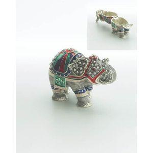 Secret Delights Elephant Trinket Box