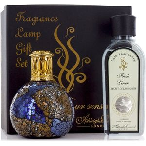 Ashleigh & Burwood Fragrance Lamp Gift Set - Masquerade & Fresh Linen
