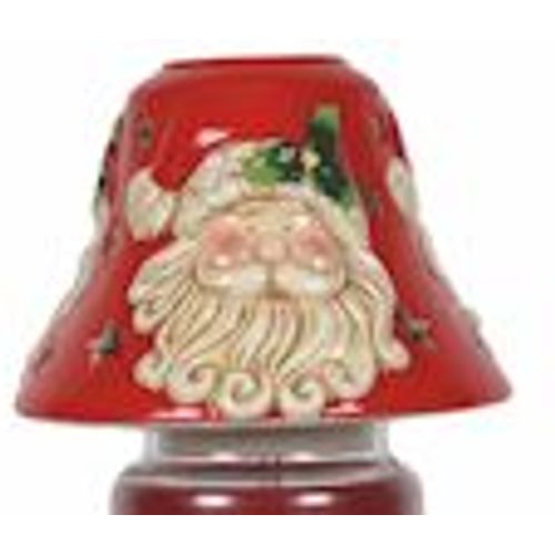 Aromatize Jar Candle Lamp Shade: Santa VC976 Christmas Decor