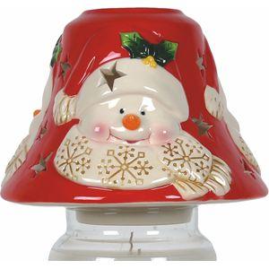 Aromatize Jar Candle Lamp Shade: Snowman