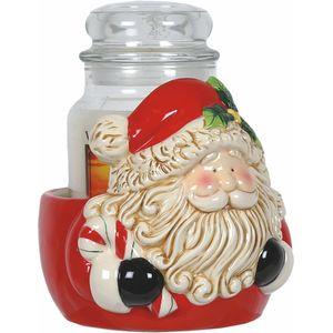 Aroma Jar Candle Holder: Santa