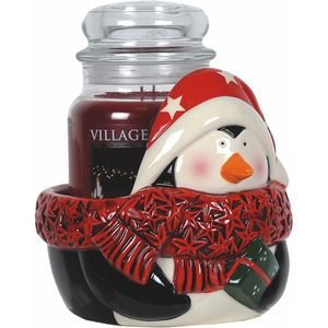 Aroma Jar Candle Holder: Penguin