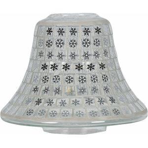 Aroma Jar Candle Lamp Shade: Snowflakes Mosaic