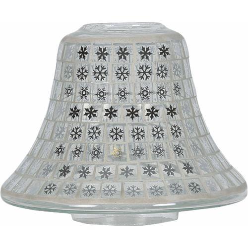 Aromatize Jar Candle Lamp Shade: Snowflakes Mosaic VC929