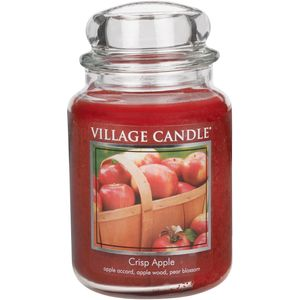 Village Candle Large Jar 26oz - Crisp Apple