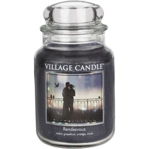 Village Candle Rendezvous Large Jar Candle