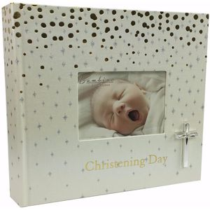 Gold Spots - Christening Day Photo Album