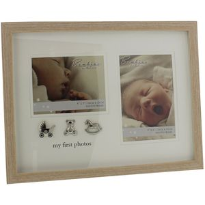 Bambino My 1st Photos Double Baby Photo Frame