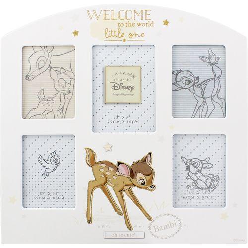 Disney Magical Beginnings Multi Photo Frame - Bambi
