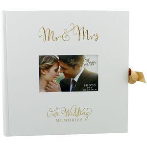 Juliana Always & Forever Photo Album/Scrap Book - Mr & Mrs Our Wedding Memories