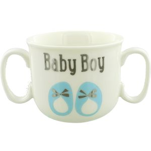 Baby Boy Double Handled Mug