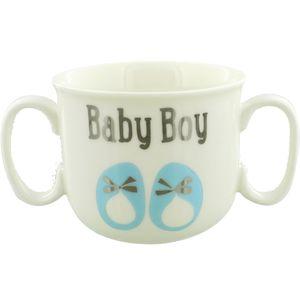 Wendy Jones Blackett Double Handled Mug - Baby Boy