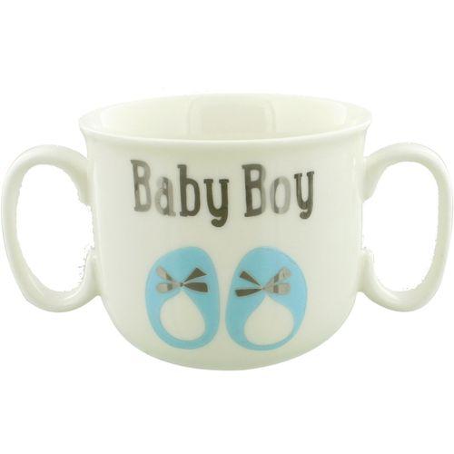 My First Mug Double Handled Mug - Baby Boy