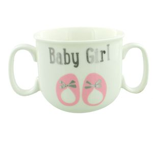 Baby Girl Double Handled Mug