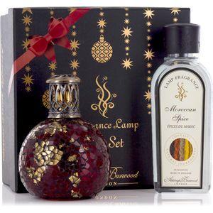 Fragrance Lamp Gift Set Dragons Eye & Moroccan Spice