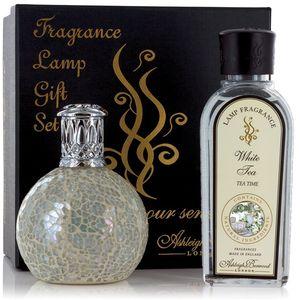 Ashleigh & Burwood Fragrance Lamp Gift Set - The Pearl & White Tea