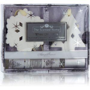 Ashleigh & Burwood Scented Ceramics & Room Spray Gift Set - White Christmas