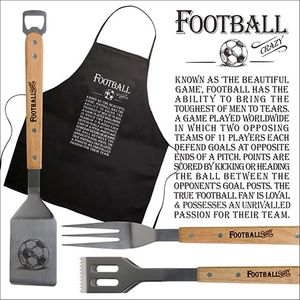 Ultimate Man Gift BBQ Set - Football Crazy
