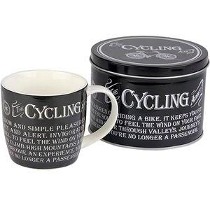 Man Mug in Gift Tin - Cycling Design