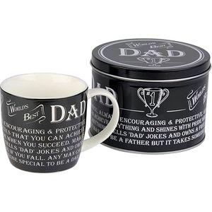 Ultimate Man Gift Mug in Gift Tin - Worlds Best Dad