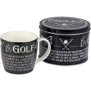 Ultimate Man Gift Mug in Gift Tin - The Golf Addict