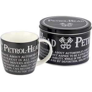 Man Mug in Gift Tin - Petrol Head