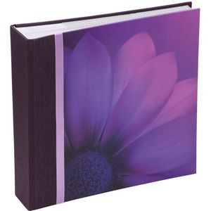 "Violet Gerbera Cover design Photo Album 6x4"" (200)"