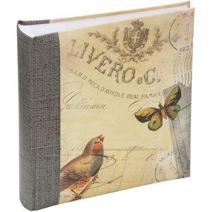 "Bird & Butterfly Cover design Photo Album 6x4"" (200)"