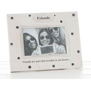 "Star Print Photo Frame - Friends (6x4"")"