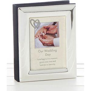 """Our Wedding Day Photo Album 4x6"""""""